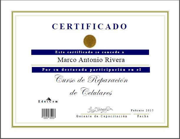 Curso gratis de Reparacion de Celulares en Educagratis